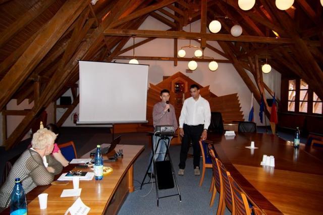 Gyertyás János, dr.Szabó Endre, a KCSSZ vezetői