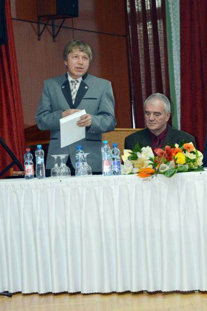 Pásztor Csaba, a Mátyusföldi Nagycsaládosok Egyesületének elnöke